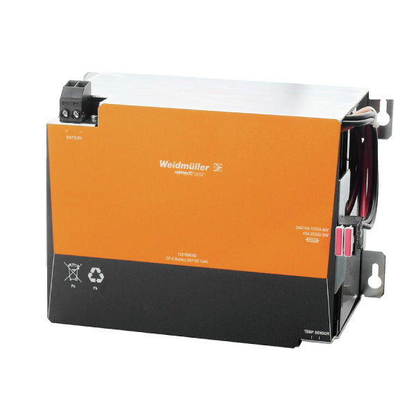 Weidmuller UPS Battery ConnectPower 24V DC 12 AH