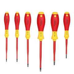Electrician's Screw Driver Set Insulated 6 Piece