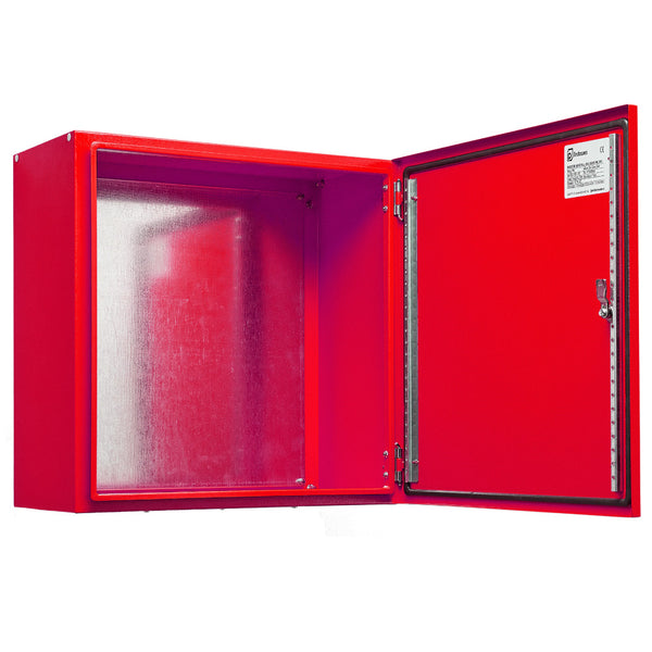 Electrical Enclosure 800 H x 800 W x 400 D IP66 Fire Service Red