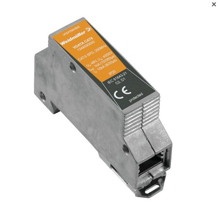 Weidmuller Surge Protection for Data VDATA CAT6 48V 1 Amp