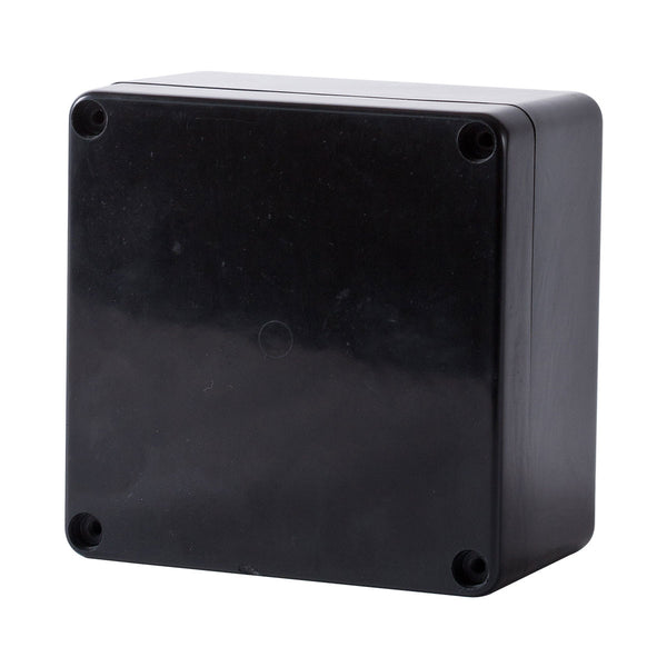 GRP IP68 Black Terminal Enclosure 160H x 160W x 95D