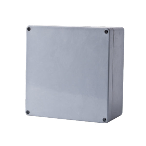 GRP Terminal Box 160 x 160 x 95 Grey IP68