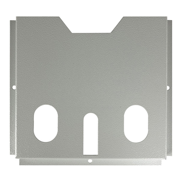 A4 Document Pocket for Electrical Enclosure, Powder Coated Steel