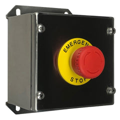 Stainless Steel Emergency Stop Button Assembly