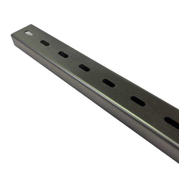 Stainless Steel Pole Mount Bracket U-Channel Profile x 1200mm