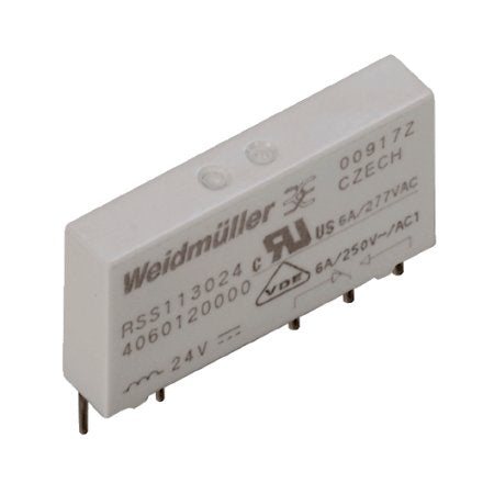 Weidmuller Relay Termseries 24V DC 6 Amp 1CO