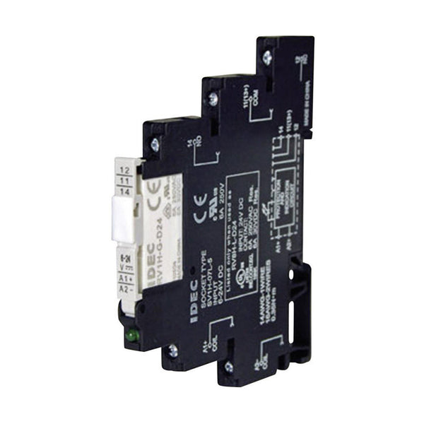 Idec Interface Relay 6mm 24V AC-DC 6 Amp