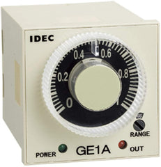 IDEC Timer Single Function 5A Contact Delayed SPDT + Instantaneous SPDT 240VAC 8 Pin Plug-In