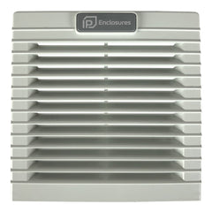 Vent Filter Grille for Electrical Enclosure 114 x 114 x 27