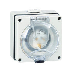 Appliance Inlet 15 AMP 3 Pin 250V IP66