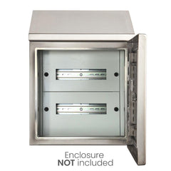 24 Pole Distribution Board Kit to suit 400 x 400 Electrical Enclosure
