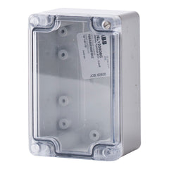 Polycarbonate Terminal Box 120 x 80 x 55 with Transparent Lid IP66