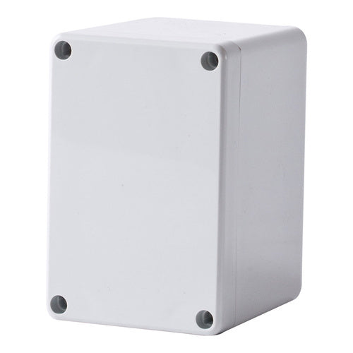 Polycarbonate Terminal Box 120 x 80 x 90 with Grey Lid IP66