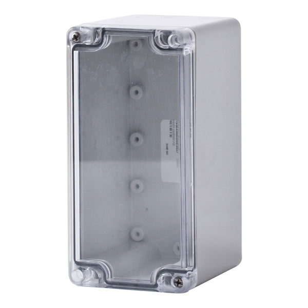 Polycarbonate Terminal Box 160 x 80 x 90 with Transparent Lid IP66
