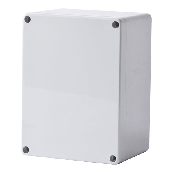 Polycarbonate Terminal Box 160 x 120 x 90 with Grey Lid IP66