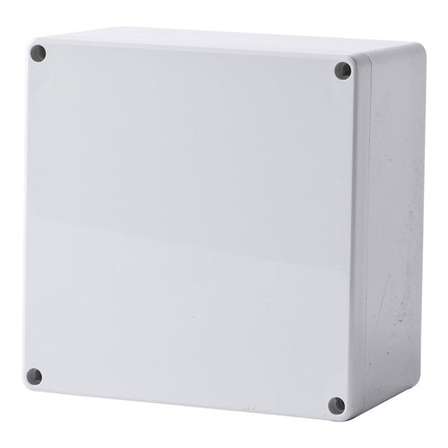 Polycarbonate Enclosure Grey Lid  IP66 160H x 160W x 90D