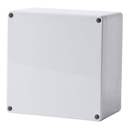 Polycarbonate Terminal Box 120 x 120 x 55 with Grey Lid IP66