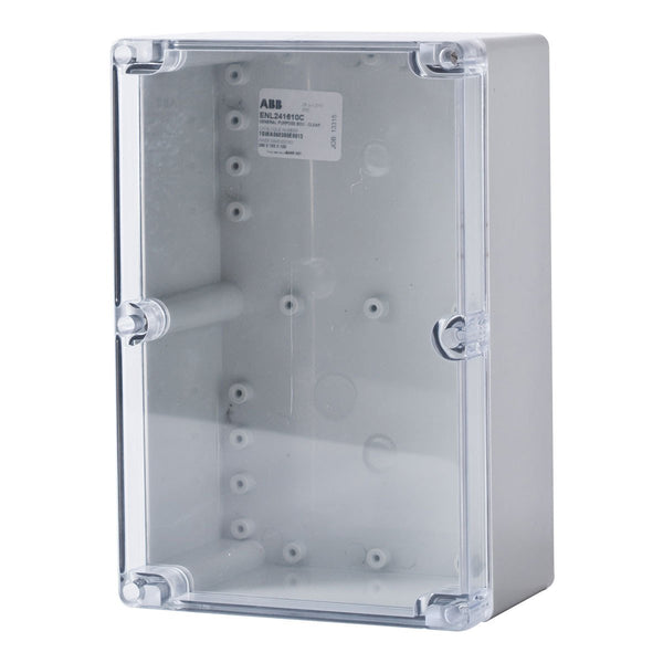 Polycarbonate Terminal Box 200 x 120 x 90 with Transparent Lid IP66