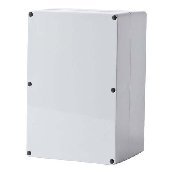 Polycarbonate Terminal Box 240 x 160 x 130 with Grey Lid IP66