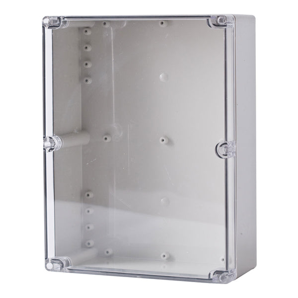 Polycarbonate Terminal Box 300 x 230 x 130 with Transparent Lid IP66
