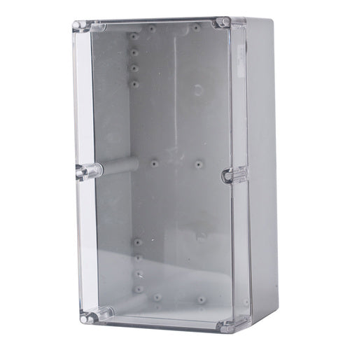 Polycarbonate Terminal Box 360 x 200 x 150 with Transparent Lid IP66