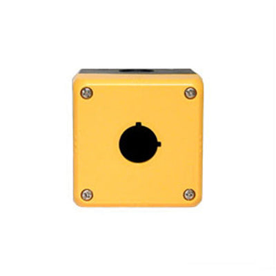 Idec Push Button Enclosure 76mm 1 Hole Yellow