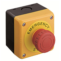 Idec E-Stop Emergency Stop Pushbutton Assembly 2 x N/C, 2 x N/O Contacts
