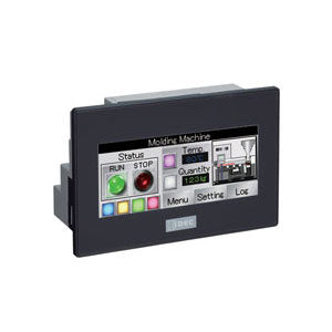 Idec SmartAXIS Touch PLC+HMI Colour 14 I/O Source Output with Black Bezel