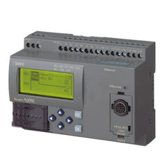 Idec PLC FT1A SmartAXIS 24I/O CPU DC, 16 DC Inputs, 8 Relay Outputs, with LCD/keypad