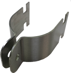 Stainless Steel Pole Mount Bracket Clamp Set to suit 60mm OD Pole, Set of 2