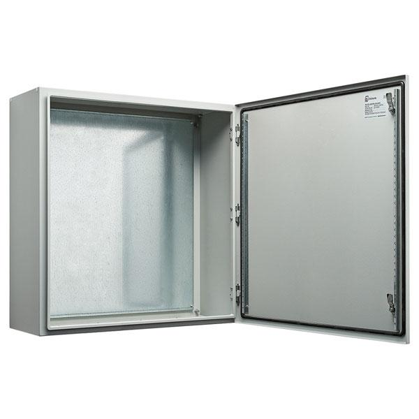 Galvanised Steel Electrical Enclosure 600H x 600W x 300D IP66
