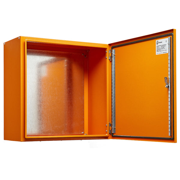 Electrical Enclosure 400 H x 400 W x 200 D IP66 - Orange RAL2000