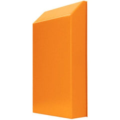 Vent Hood 475H x 375W x 75D - Hinged - RAL2000 Orange