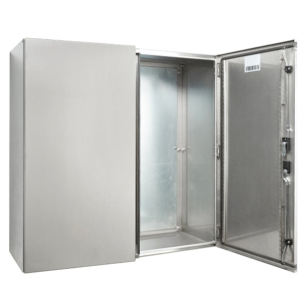 Stainless Steel Electrical Enclosure 1200 H x 1000 W x 400 D IP55