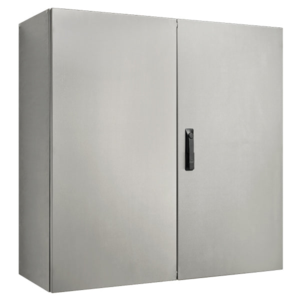 Stainless Steel Electrical Enclosure 1200 H x 1200 W x 400 D IP55