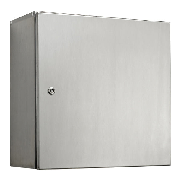 Stainless Steel Electrical Enclosure 400 H x 400 W x 200 D IP66