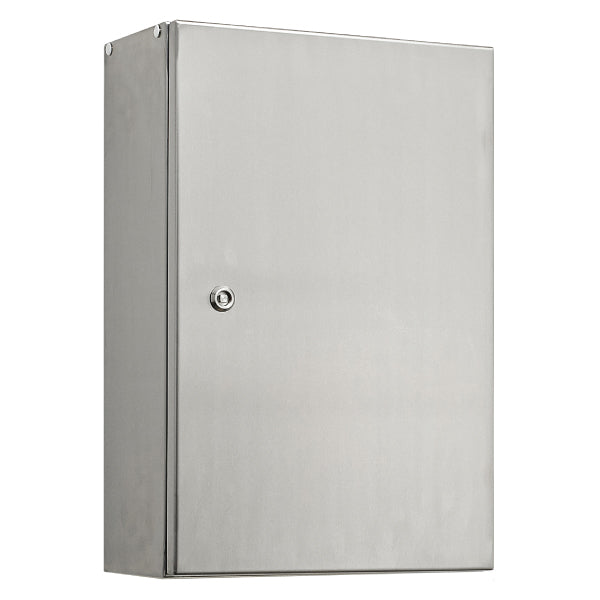 Stainless Steel Electrical Enclosure 500 H x 400 W x 200 D IP66