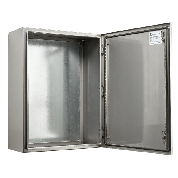Stainless Steel Electrical Enclosure 700 H x 500 W x 250 D IP66