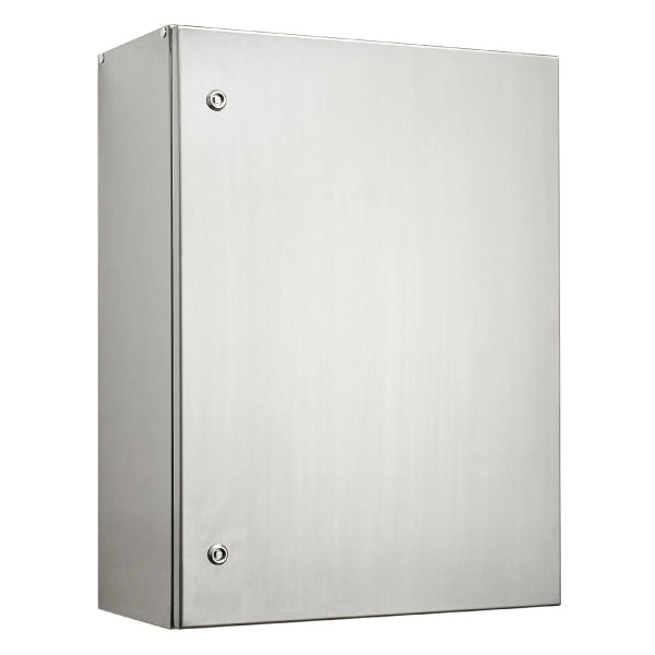 Stainless Steel Electrical Enclosure 800 H x 600 W x 250 D IP66