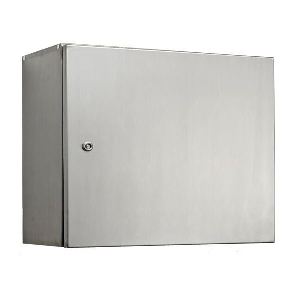 Stainless Steel Electrical Enclosure 400 H x 600 W x 200 D IP66