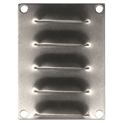 Stainless Steel Louvre Vent 100 x 75
