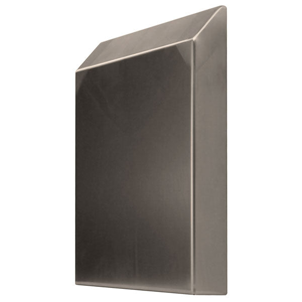 Stainless Steel Vent Hood 300 H x 200 W x 50 D