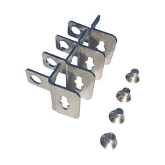 Stainless Steel Mounting Bracket Set for Electrical Enclosure