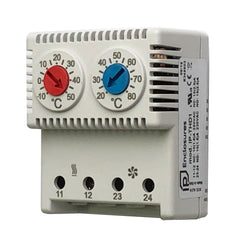 Double Thermostat Normally Closed/Open -10/+50  +20/+80°C