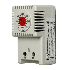 Thermostat for Electrical Enclosure Heaters Normally Closed 0/+60°C