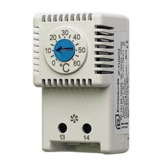 Thermostat for Ventilation Fan Normally Open 0°C - 60°C