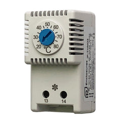 Thermostat for Ventilation Fan Normally Open +20/+80°C