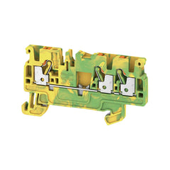 A3C 2.5 PE PE terminal, PUSH IN, 2.5 mm², green / yellow - Weidmuller