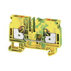 A2C 6 PE PE terminal, PUSH IN, 6 mm², green / yellow - Weidmuller