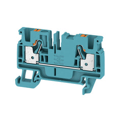 A2C 4 BL Feed-through terminal, PUSH IN, 4 mm² Blue - Weidmuller